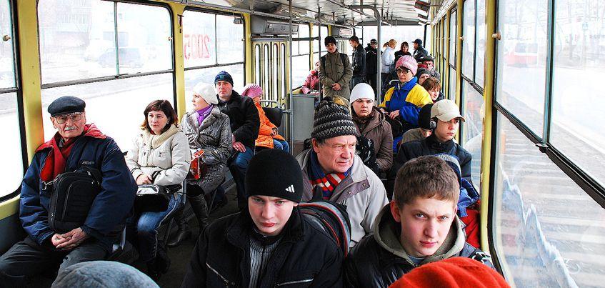 17 февраля ижевчане смогут бесплатно проехаться на тематическом трамвае