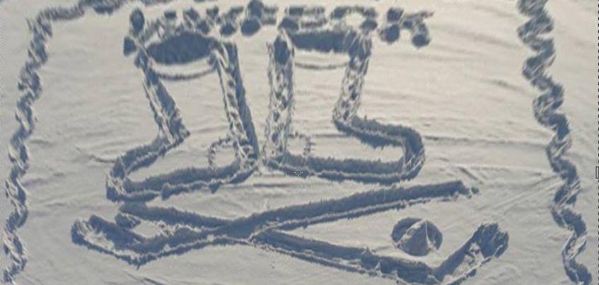 Дворник-художник Семен Бухарин нарисовал новый шедевр на территории Ижевского пруда