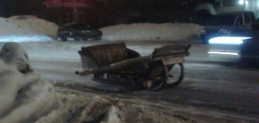Фотофакт: Ижевчане заметили на дорогах города необычное транспортное средство