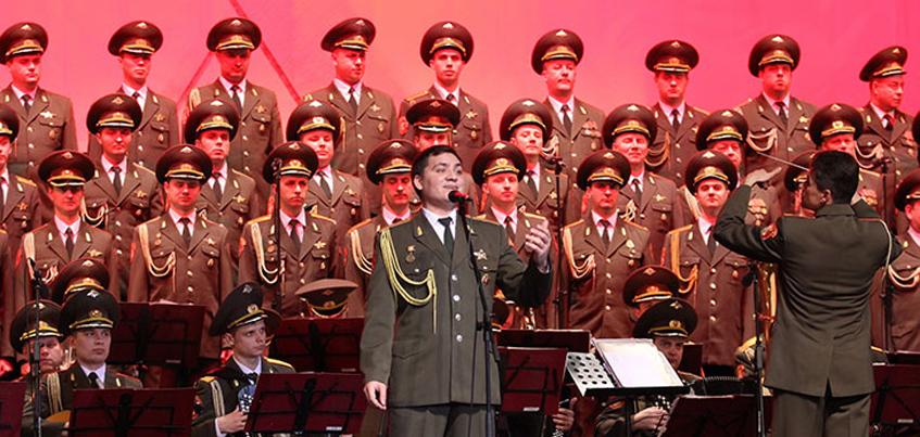 В Ижевске споют песню, посвященную артистам ансамбля им. Александрова, которые погибли в авиакатастрофе
