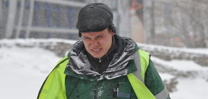 14 февраля в  Ижевске ожидается значительное усиление ветра