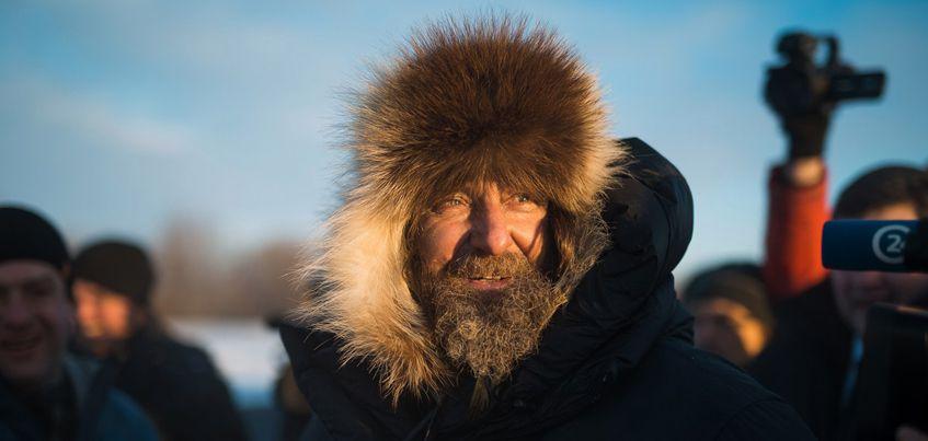 Фотограф из Ижевска запечатлел новый мировой рекорд путешественника Федора Конюхова