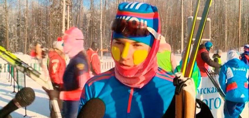 Можгинская лыжница-юниорка Лилия Васильева выиграла золото на первенстве России