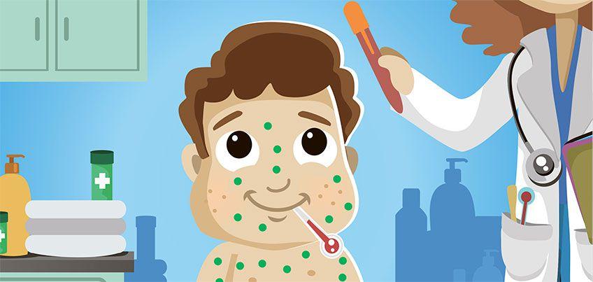 Здоровье с доктором Комаровским: что нужно знать о самых заразных детских болезнях