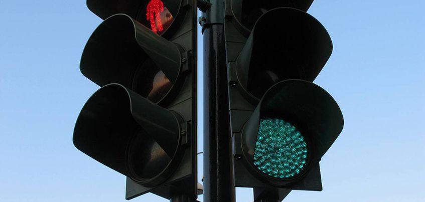 В Ижевске светофор около здания правительства установят до 1 мая