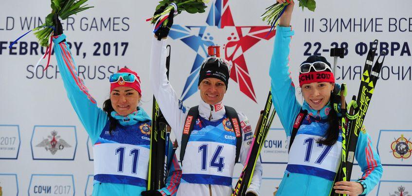 Ульяна Кайшева выиграла бронзу в спринте на Всемирных военных играх в Сочи