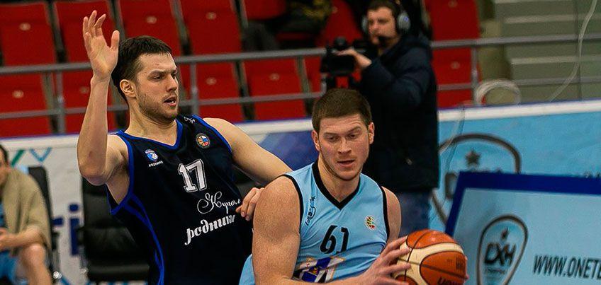 Баскетбольная команда из Ижевска «Купол-Родники» потерпела два поражения на выезде