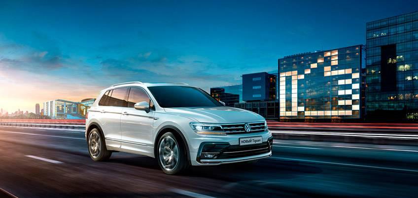 5 марта ижевчан ждет презентация нового Volkswagen Tiguan