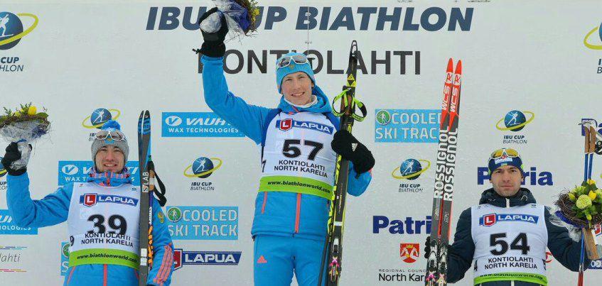 Ижевский биатлонист Александр Поварницын выиграл спринт на этапе Кубка Европы