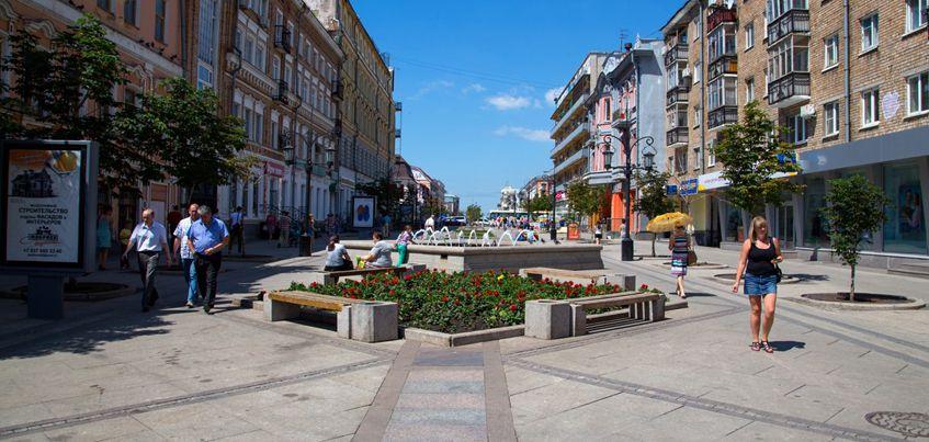 Есть вопрос: Нужна ли Ижевску своя «пешеходная» улица?