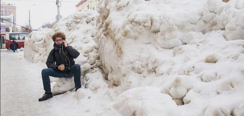 Известный блогер Илья Варламов назвал Ижевск городом сугробов