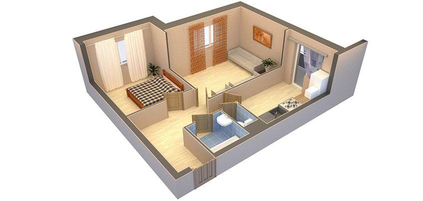 Типы планировок квартир, их преимущества и недостатки