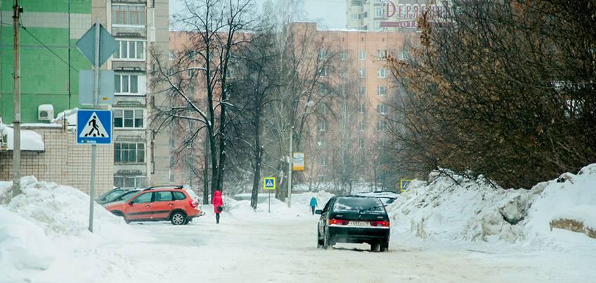 В Ижевске открыли движение по улице Красногеройской