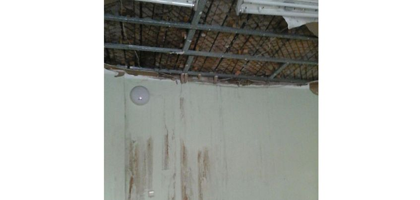 В Ижевске в детском саду №58 обрушился потолок в одной из групп