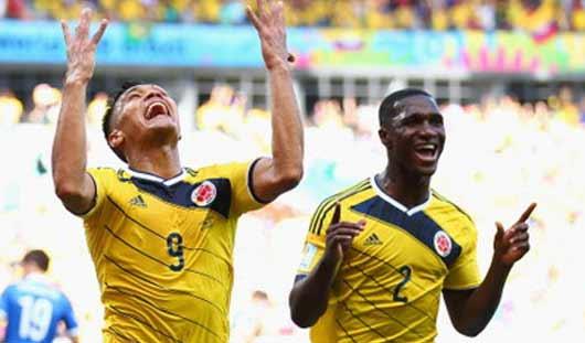 ЧМ-2014: Колумбия обыграла сборную Кот-д´Ивуара и вышла в 1/8 финала