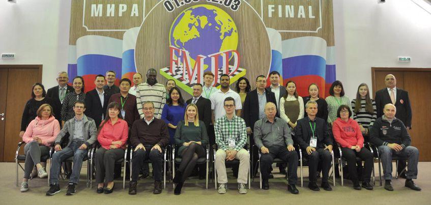Ижевчанин Алексей Чижов выиграл финал Кубка Мира по международным шашкам
