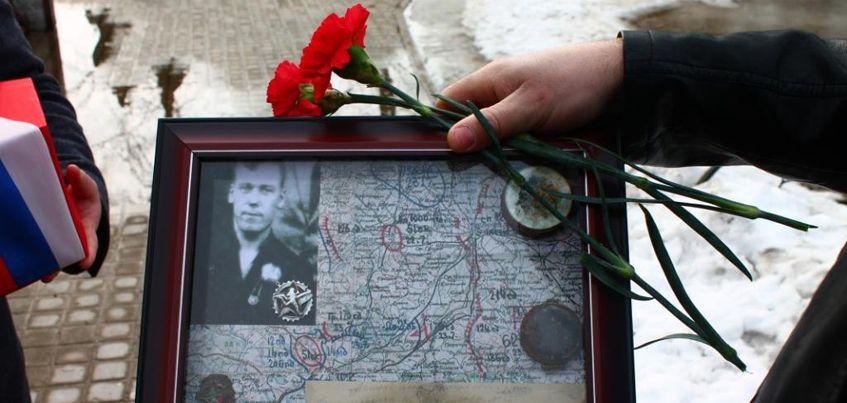 Псковские поисковики нашли и передали останки бойца родственникам из Удмуртии