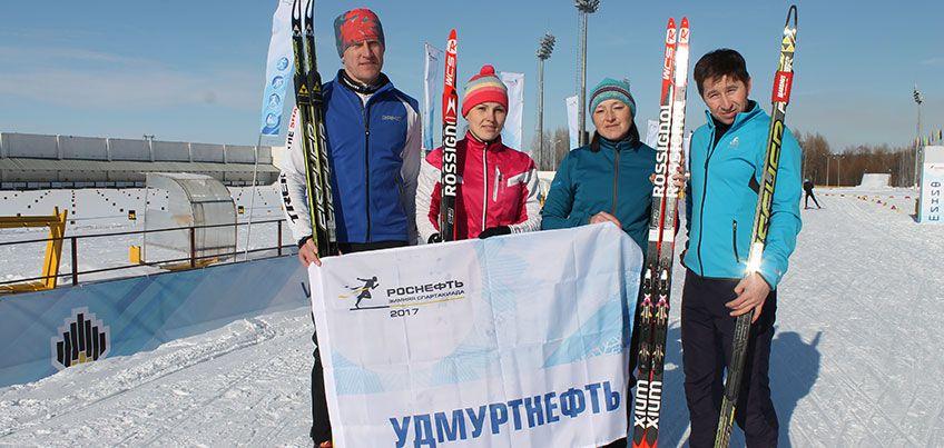 «Удмуртнефть» заняла шестое место на VII Зимней спартакиаде НК «Роснефть»