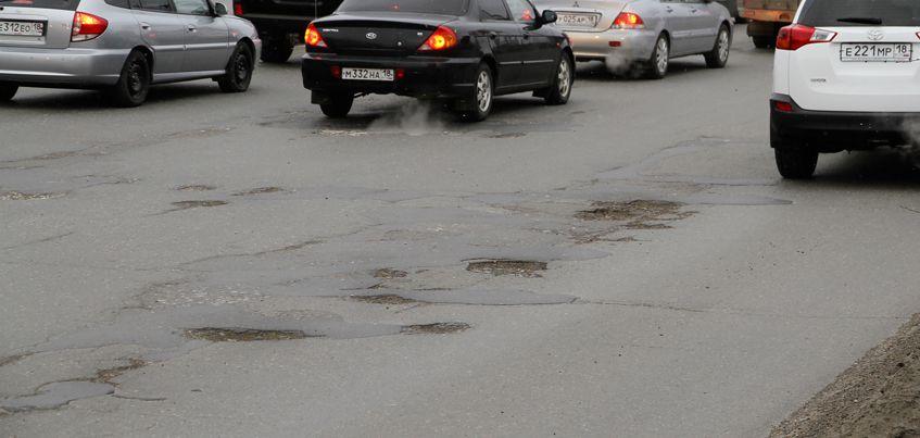 8 фото «убитых» дорог, которые сделали сами ижевчане