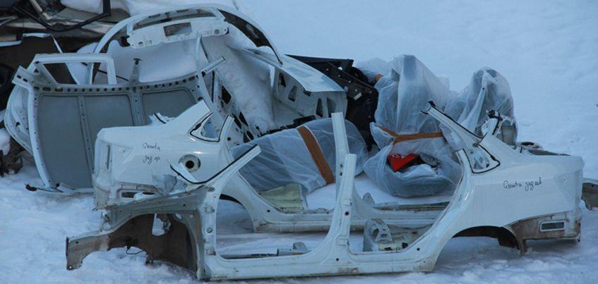 В Ижевске нашли «останки» угнанной из Нефтекамска машины