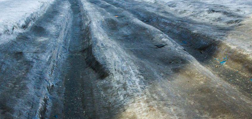 Что делать, если попал в ДТП из-за образовавшейся колеи на дороге?