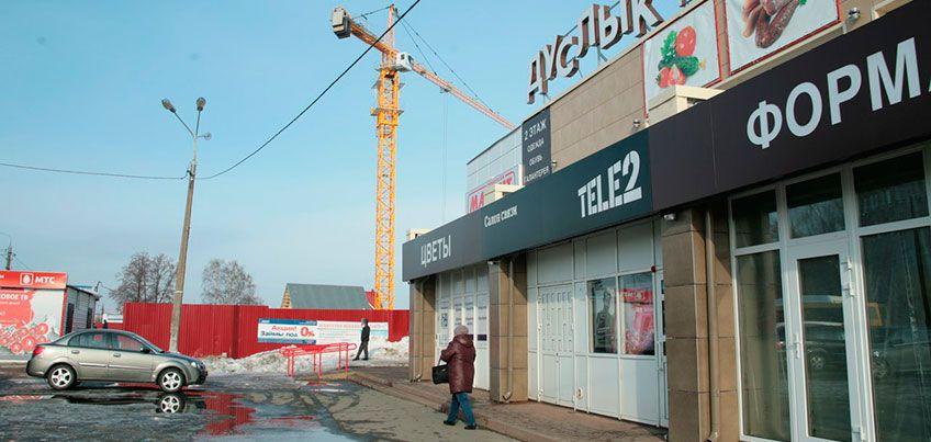 Что строится в Ижевске на улице Азина, напротив администрации Ленинского района?