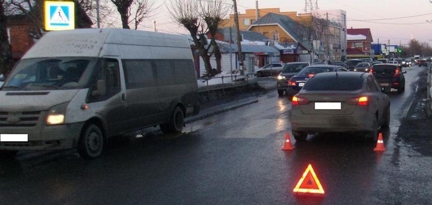 В Ижевске на улице Азина водитель иномарки сбил женщину с ребенком
