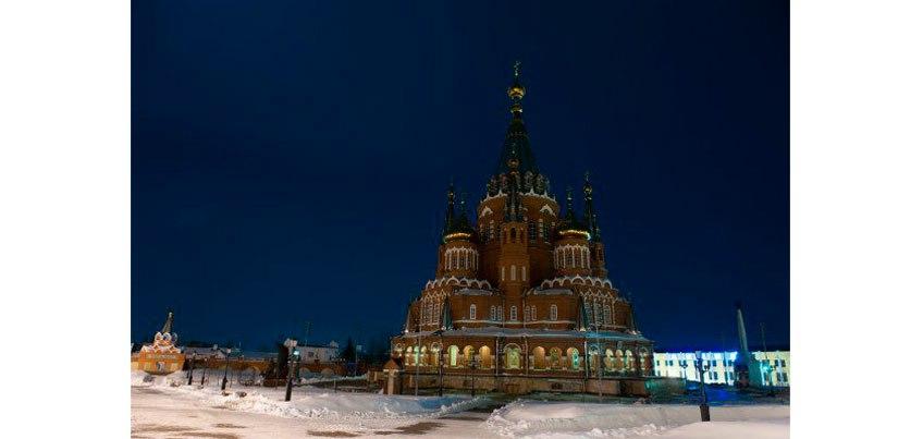 Центральная площадь и Свято-Михайловский собор: где еще выключат свет в Ижевске в рамках акции «Час Земли»?