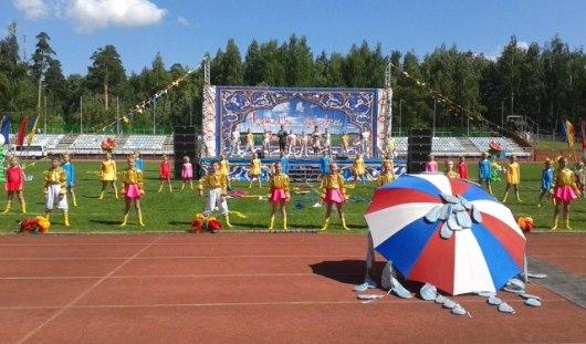В Ижевске в парке Кирова проходит сабантуй