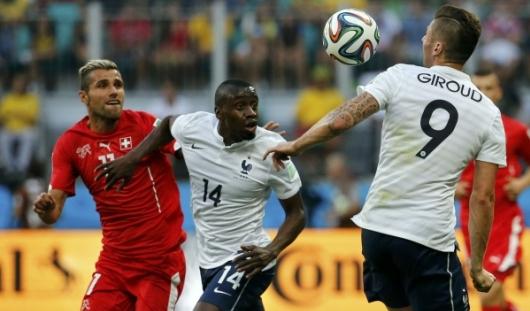 ЧМ-2014: Франция разгромила Швейцарию со счетом 5:2