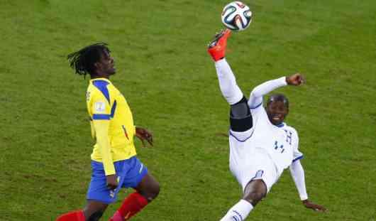 ЧМ-2014: Эквадор нанес сокрушительный удар по команде Гондураса