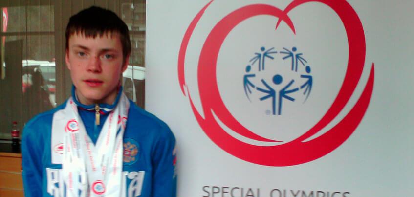 Лыжник из Удмуртии выиграл три медали на специальной Олимпиаде, где выступают спортсмены с нарушениями интеллекта