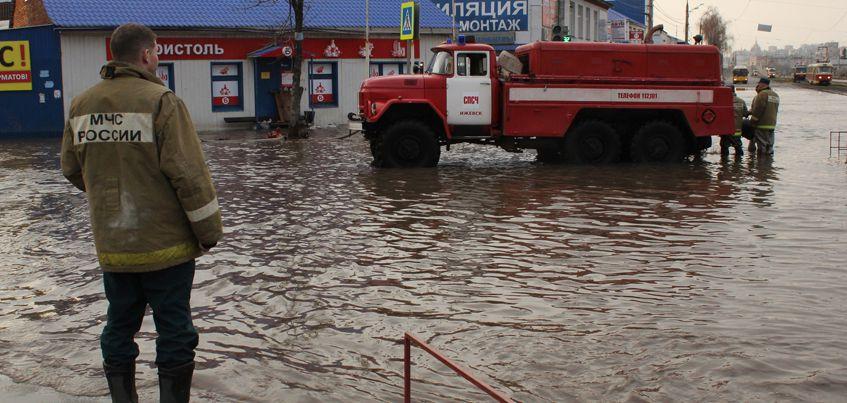8 млн рублей заложили в резервный фонд Ижевска на случай сильного паводка