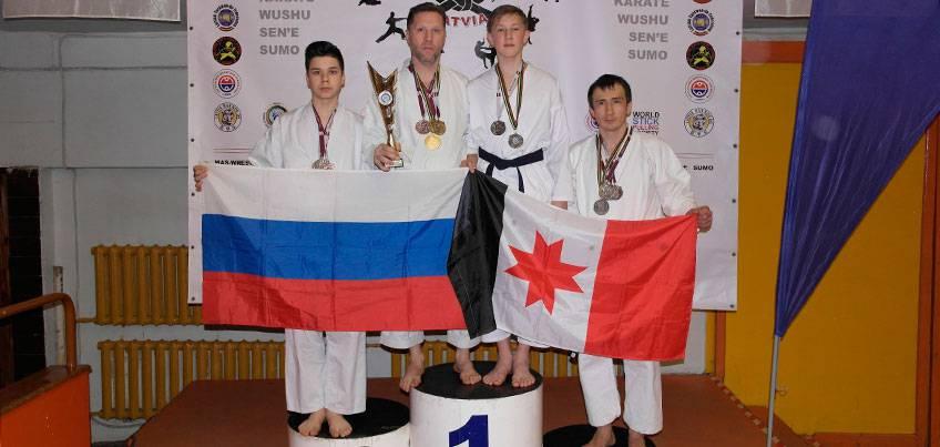 Спортсмены из Удмуртии выиграли 14 медалей на Балтийской олимпиаде боевых искусств