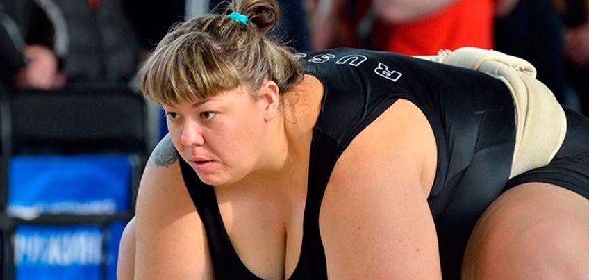 Анна Жигалова-Полякова из Удмуртии стала чемпионкой России по сумо