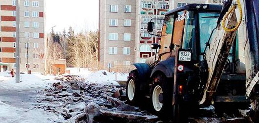 Прокуратура рассмотрела жалобу ижевчан, которые за свой счет почистили дорогу