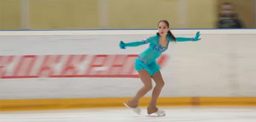 Ижевская фигуристка Алина Загитова выиграла зимнюю Спартакиаду учащихся России
