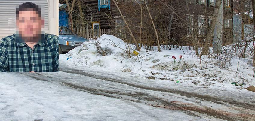 Бизнесмен, застреленный на улице Школьной в Ижевске, еще был жив, когда его нашли