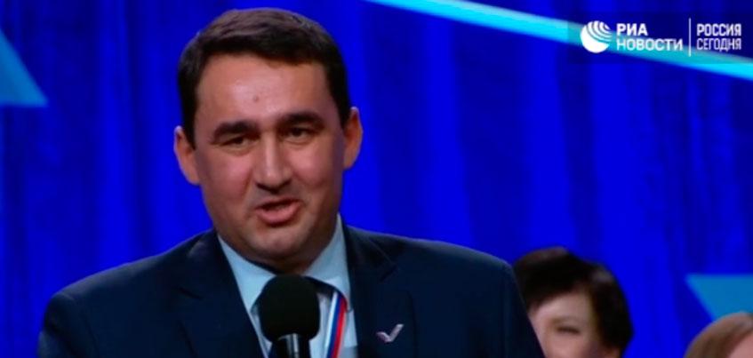 Журналист из Удмуртии задал вопрос Владимиру Путину во время медиафорума ОНФ