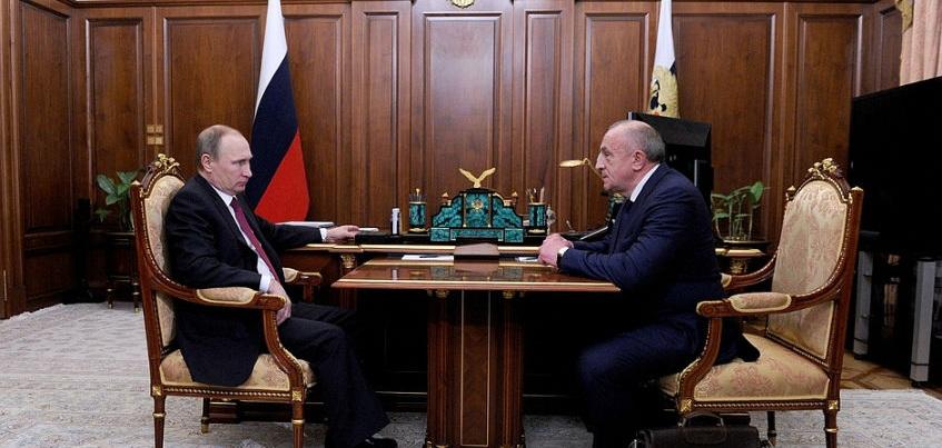 Владимиру Путину доложили о задержании Александра Соловьева