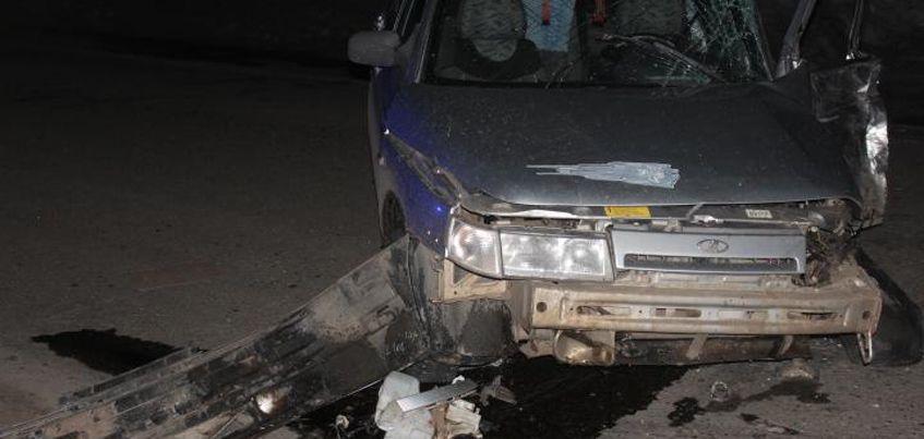 Водитель и пассажир ВАЗа пострадали в ДТП с автобусом в Камбарском районе Удмуртии