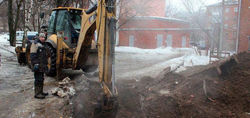 В Ижевске до 25 мая благоустроят все перекопы, которые остались после осенне-зимних ремонтных работ