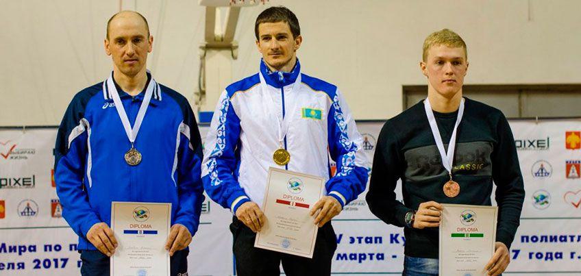 Полиатлонисты из Удмуртии стали победителями в дисциплине «Зимнее троеборье» на этапе Кубка Мира