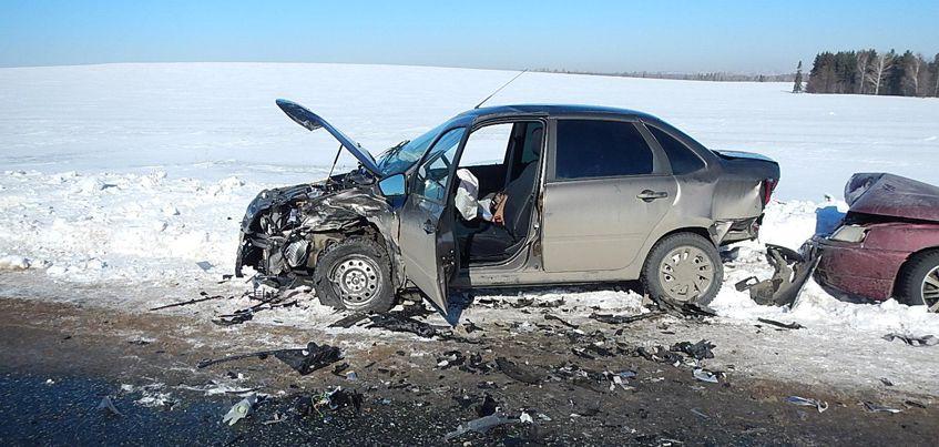 В Удмуртии нетрезвый водитель авто спровоцировал тройное ДТП в Завьяловском районе