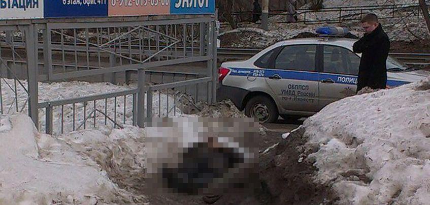 В Ижевске на улице Авангардной нашли тело мужчины