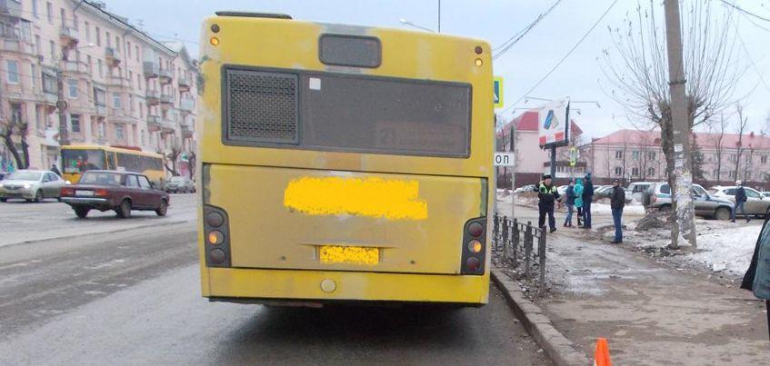 В Ижевске на улице Гагарина водитель автобуса наехал на 12-летнюю девочку