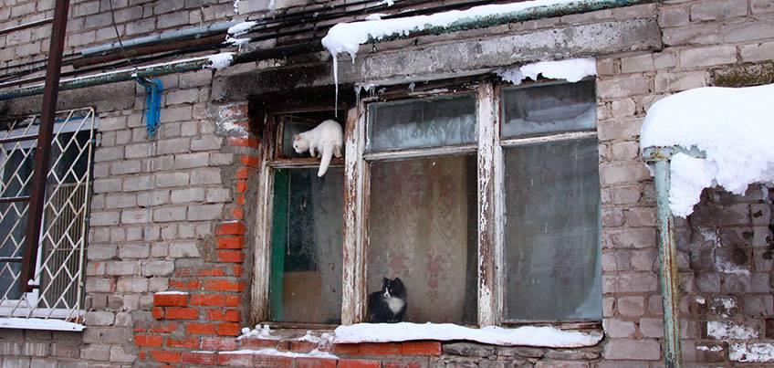 разваливается дом по вине соседей
