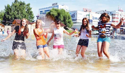 Теплая и временами дождливая погода ожидается на этой неделе в Ижевске