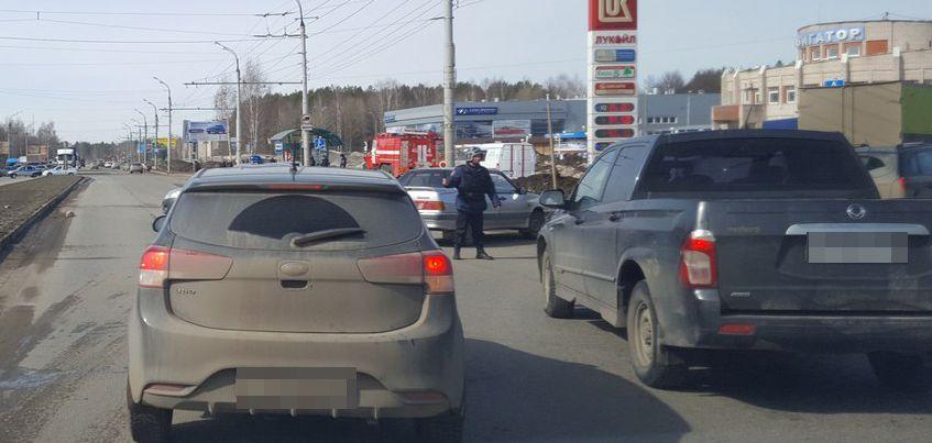 В Ижевске на Воткинском шоссе оцепили переход из-за подозрительного пакета