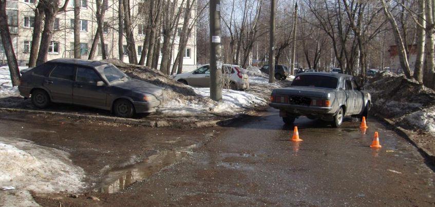 В Ижевске на улице Короткова водитель авто наехал на 10-летнюю девочку